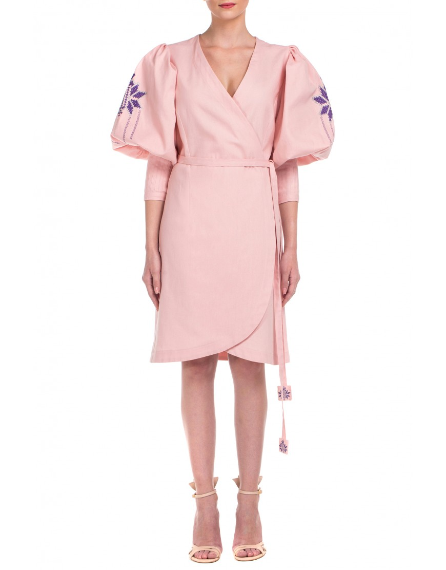 Maple Leaf Softpink Dress