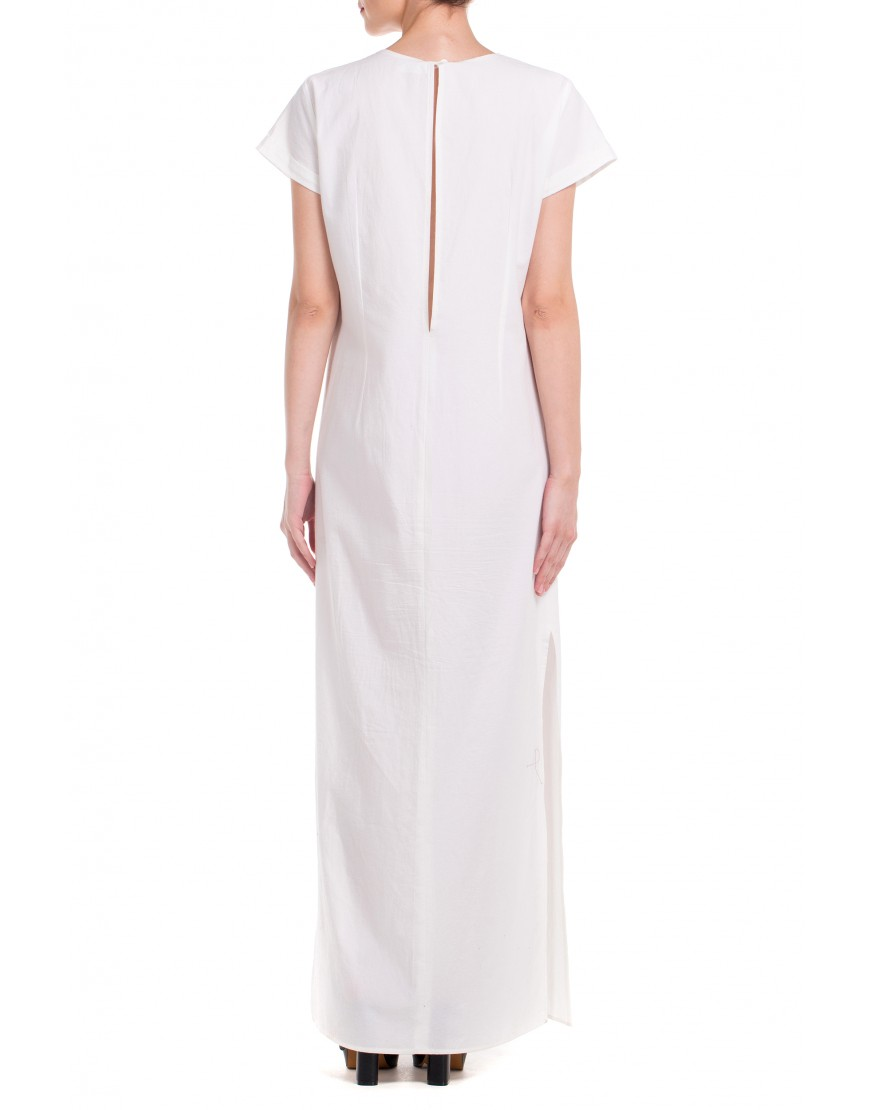 Tulip Long White Dress