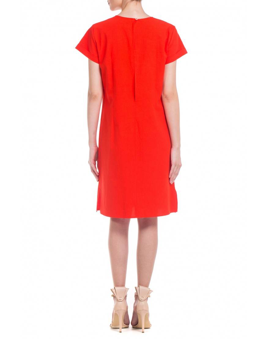 Blowball Red Dress