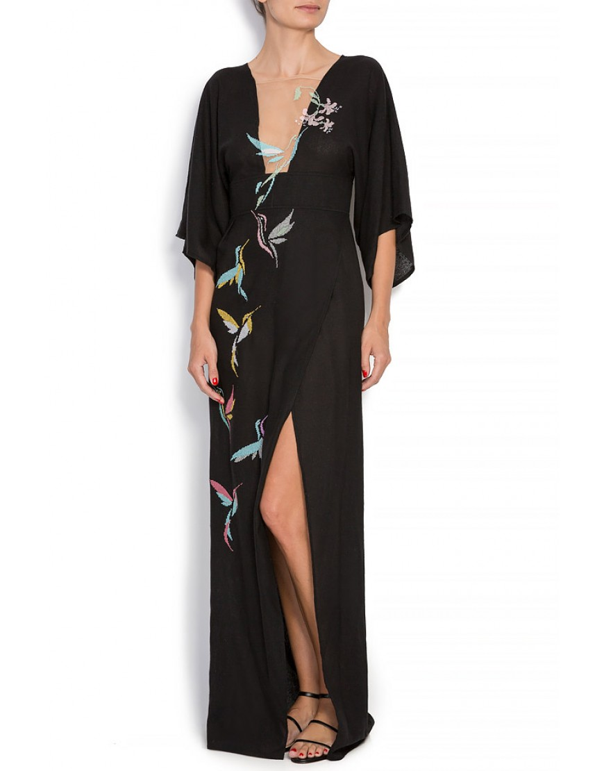 Flybird Dressy Gown in Black