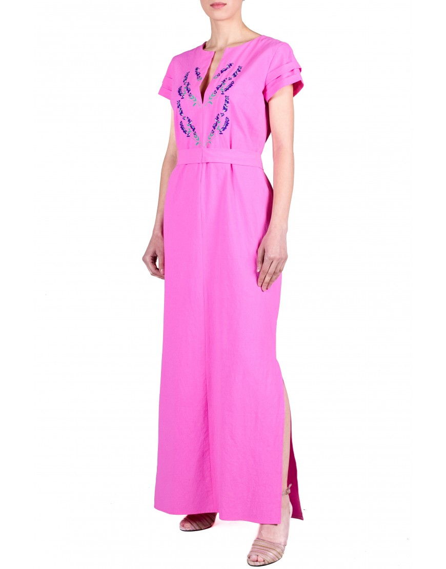Lavender Pink Long Dress