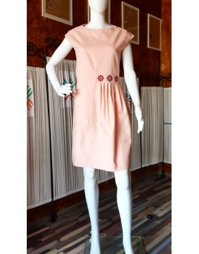 Daisy Pink Short Dress