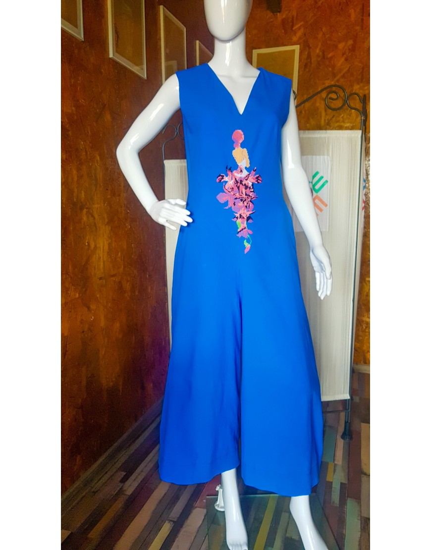 Orchidgirl Blue Jumpsuit