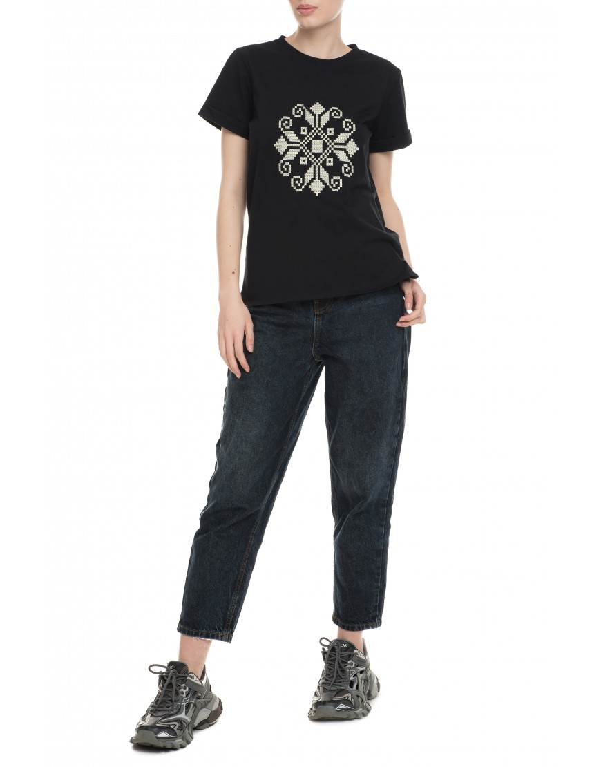 Tendril Black Tshirt