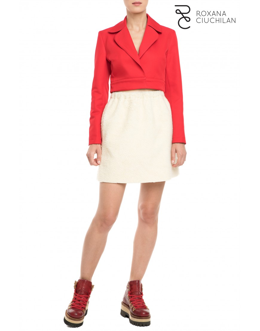 Imperial Lily Red Short Jacket