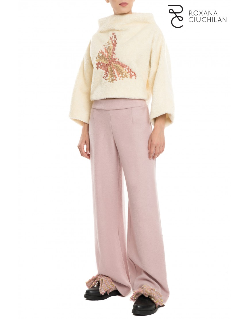 Light Purple Cashmere Trousers
