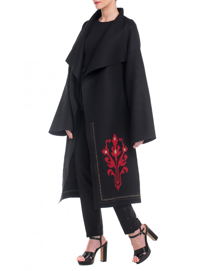Tulip Black Coat