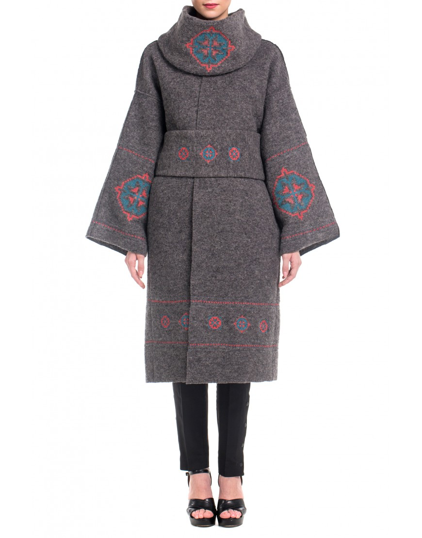 Florentin Coat in Grey