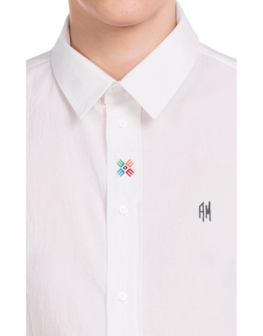 Monogram Shirt in White