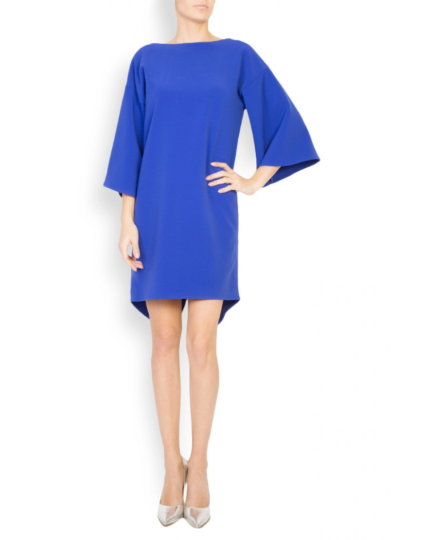 Infinity Column Blue Dress