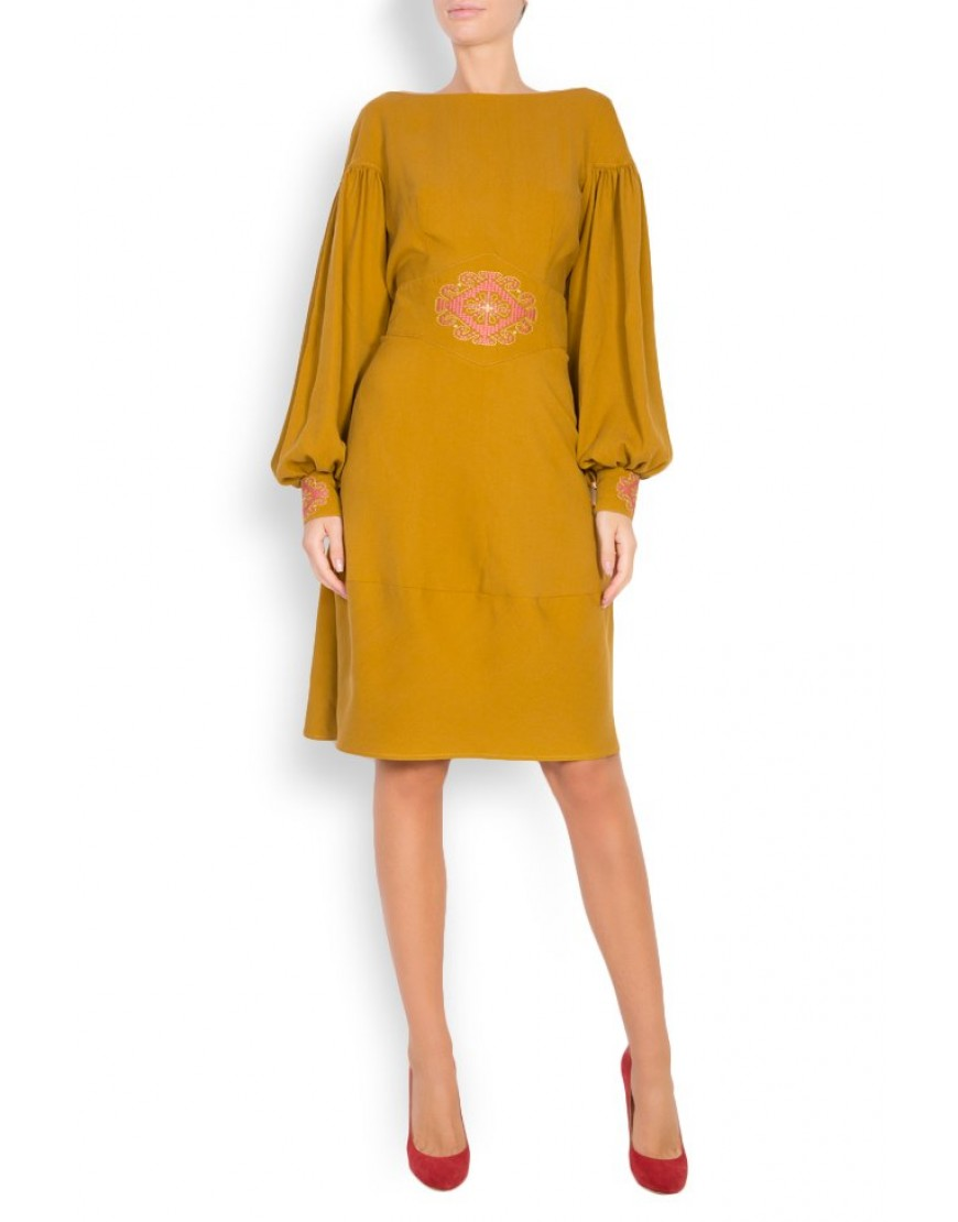 Sunflower Camel Dress