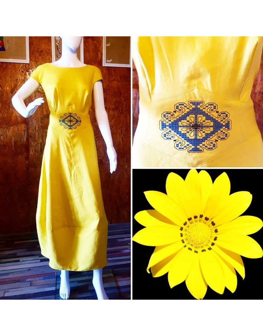 Sunflower Yellow Dress