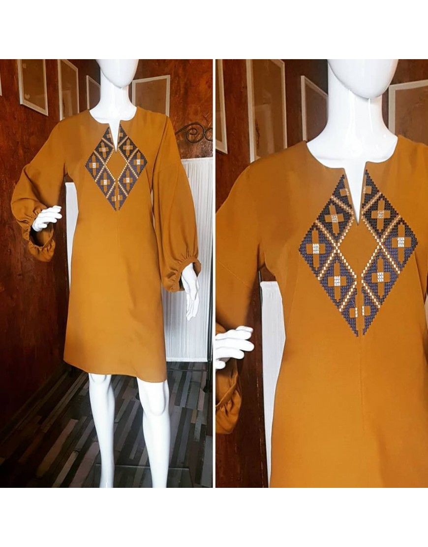Diamond Camel Dress