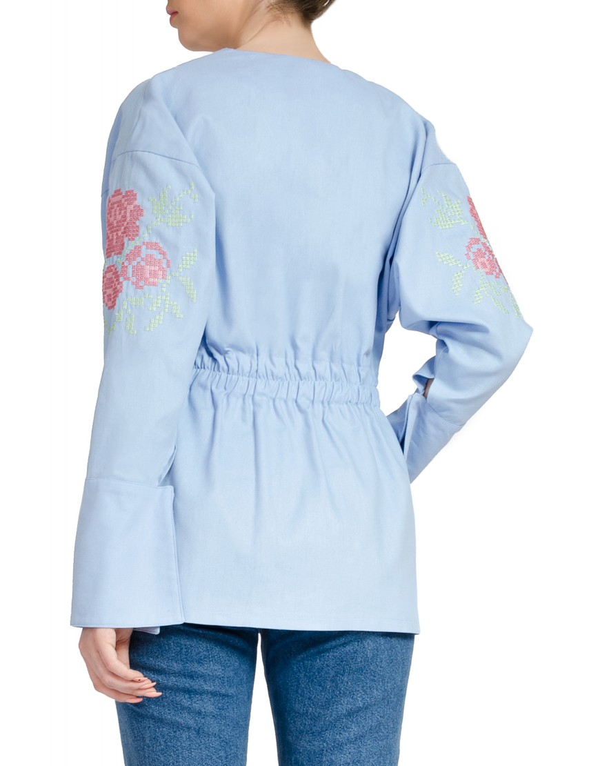 Four Roses Blue Shirt