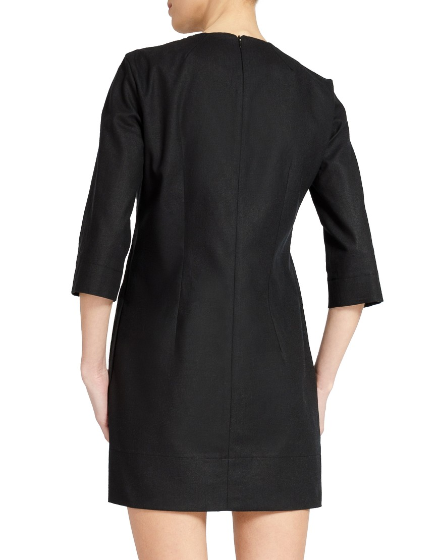 Aries Black Dress
