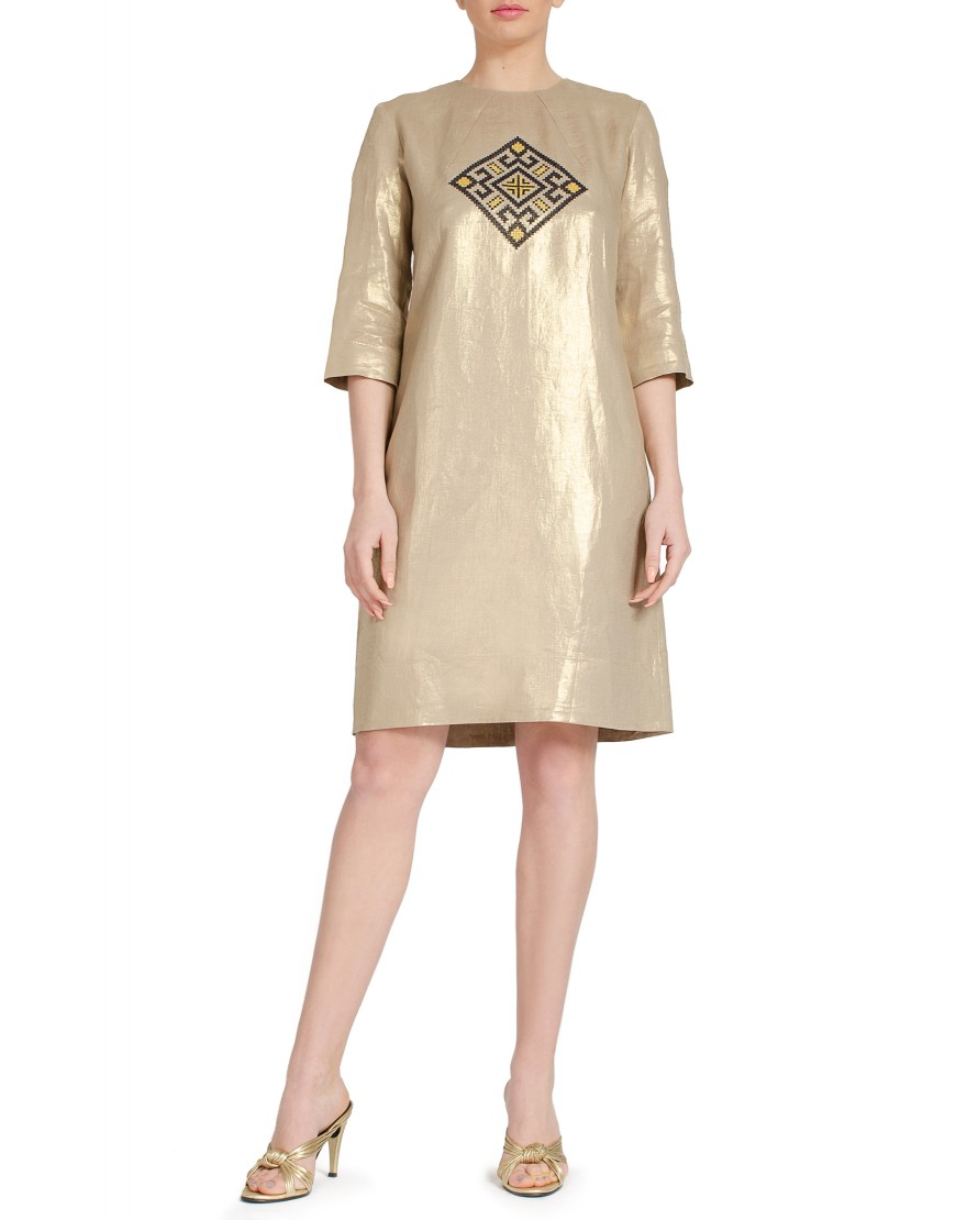 Aries Golden Dress