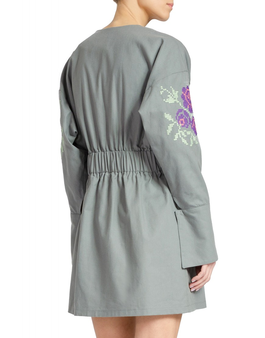 Four Roses Grey Dress