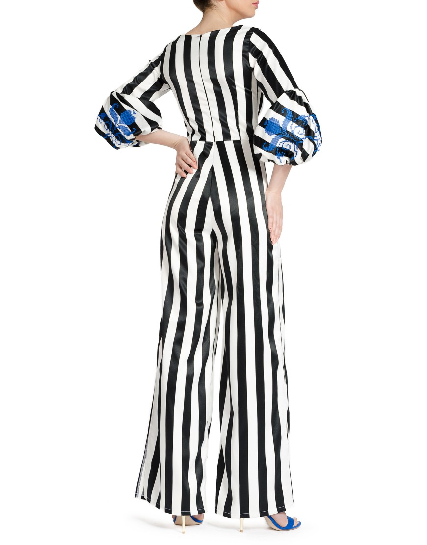 Tulip Striped Jumpsuit