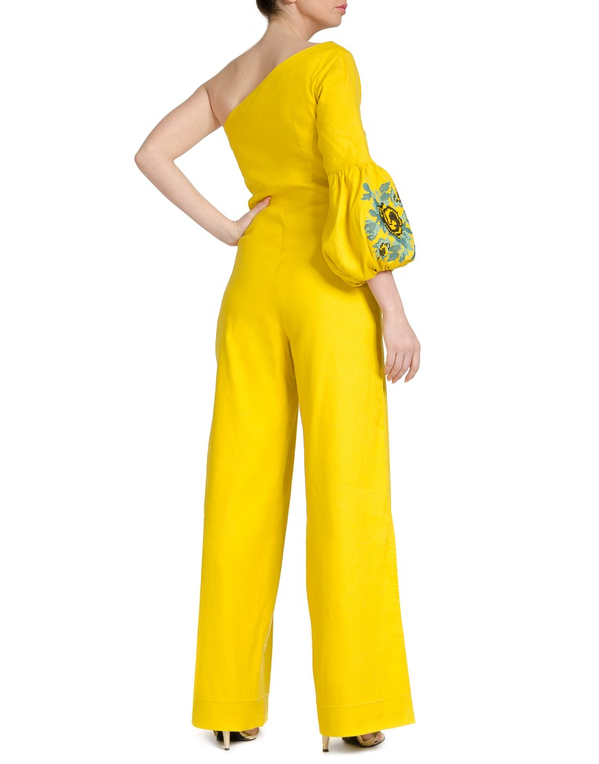 Yellow Rose Jumpsuit