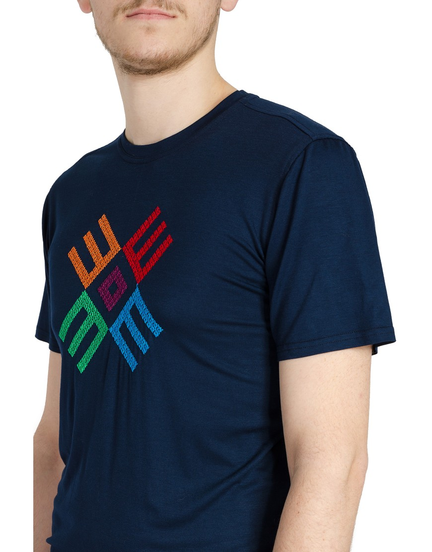 Logo Tshirt in Navy Blue