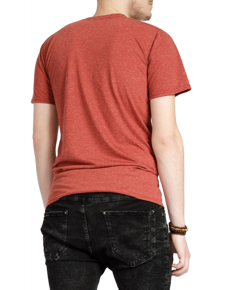 Square Tshirt in Brown