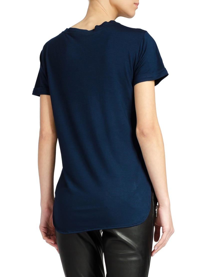 Blossom Eye Navy Blue Tshirt