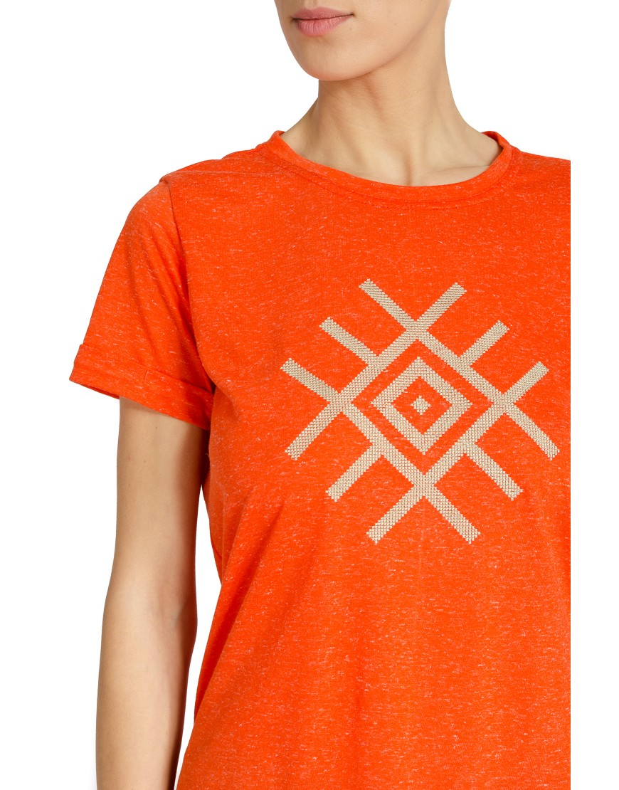 Blossom Eye Orange Tshirt