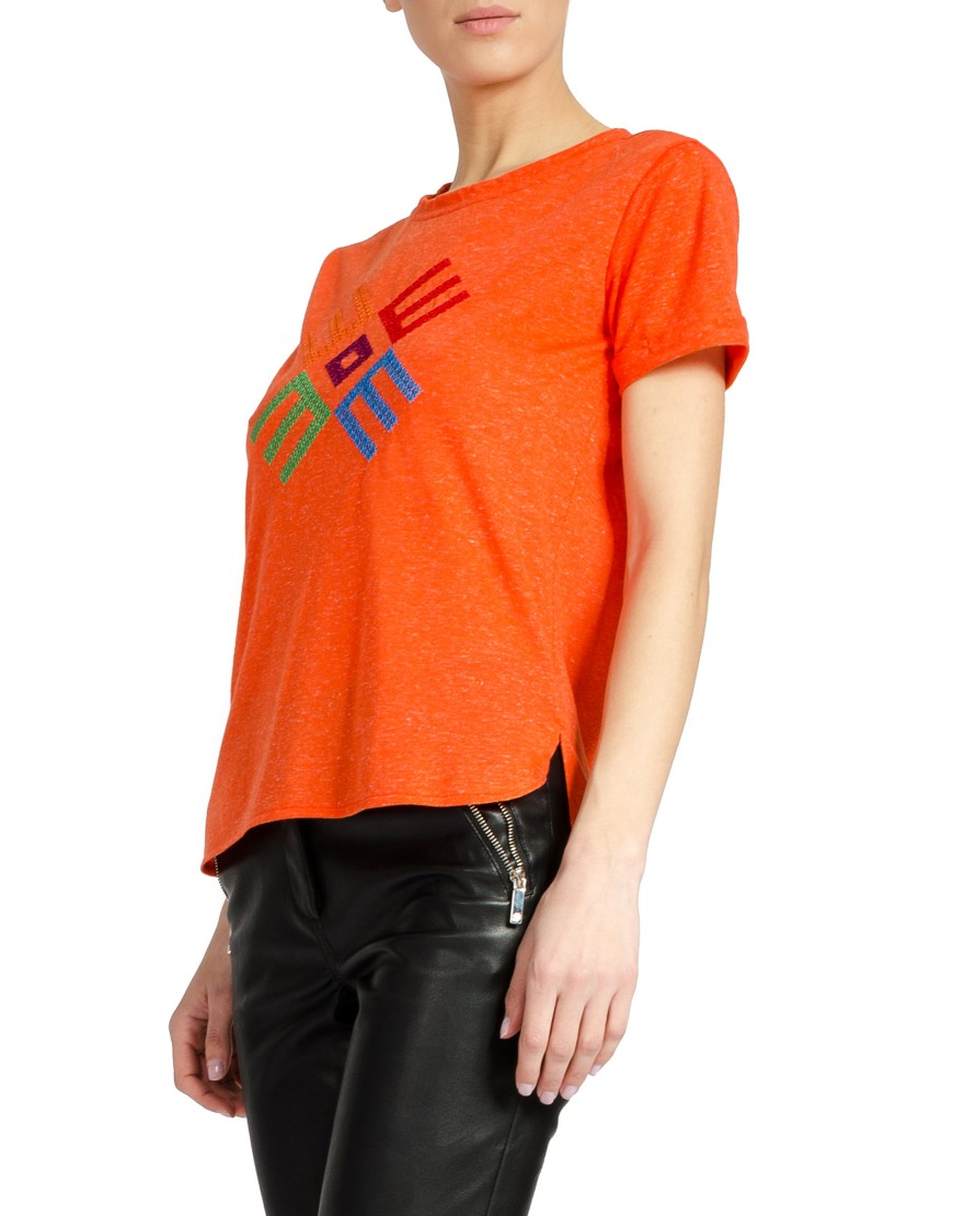 Logo Orange Tshirt