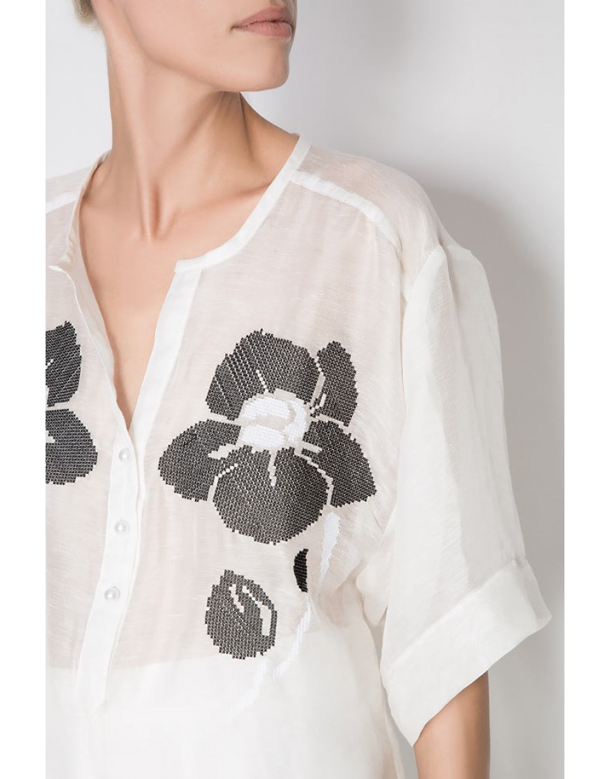 Orchid White Shirt