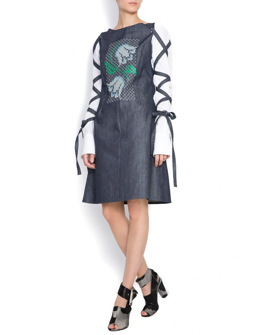 Snowdrop Denim Dress